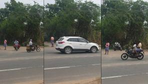 Tamil Nadu Under Intense Lockdown But Public Still Roaming. Photo: Namakkal