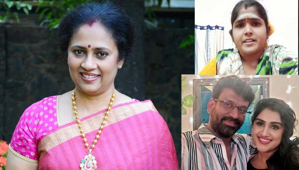 akshmi Ramakrishnan and Apartment secretary charges against Vanitha Vijayakumar