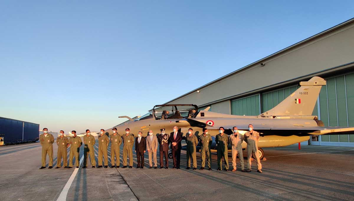 Rafale Hammer Fighter will reach Ambala from France by 2 p.m today