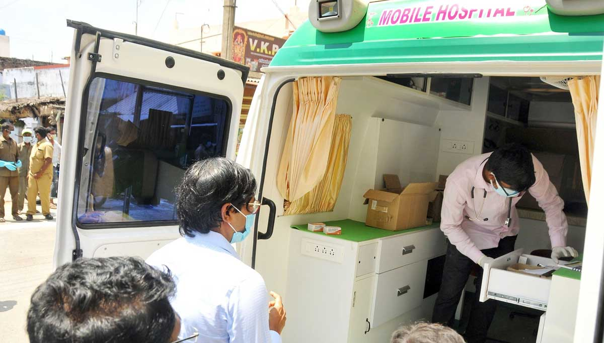 Tiruppur Collector inspected Containment Zone
