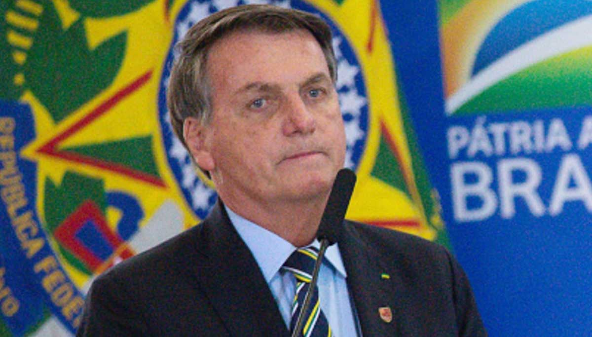 Brazil president is affected by COVID 19