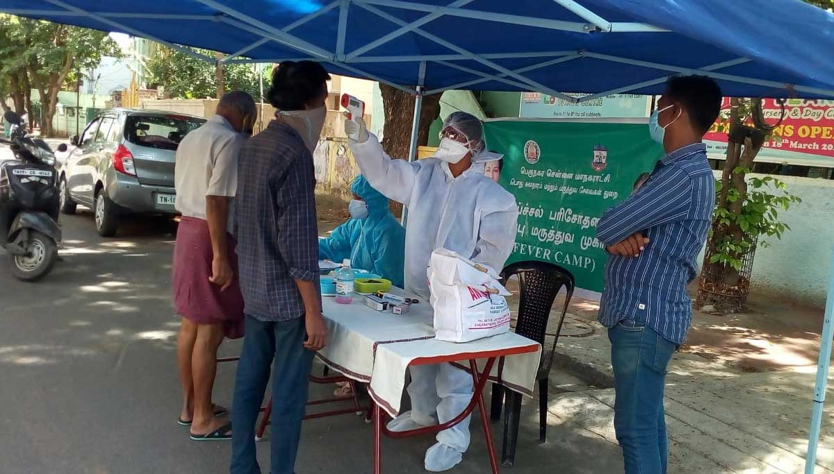 Fever Camp Medical Camp for Covid 19