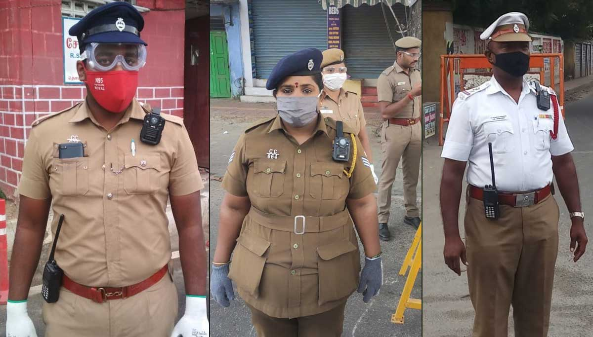 Coimbatore Police the Saviors of the People from COVID 19