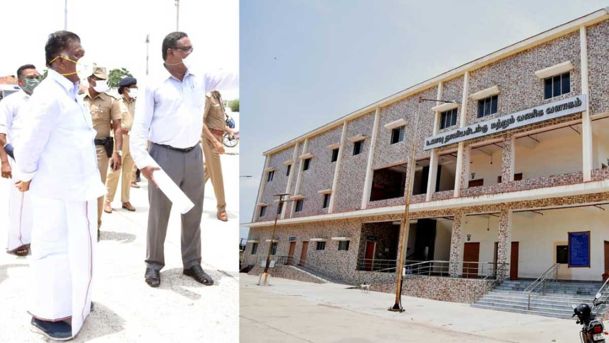 Koyambedu Market Reopens on Sep 28th says O Panneerselvam
