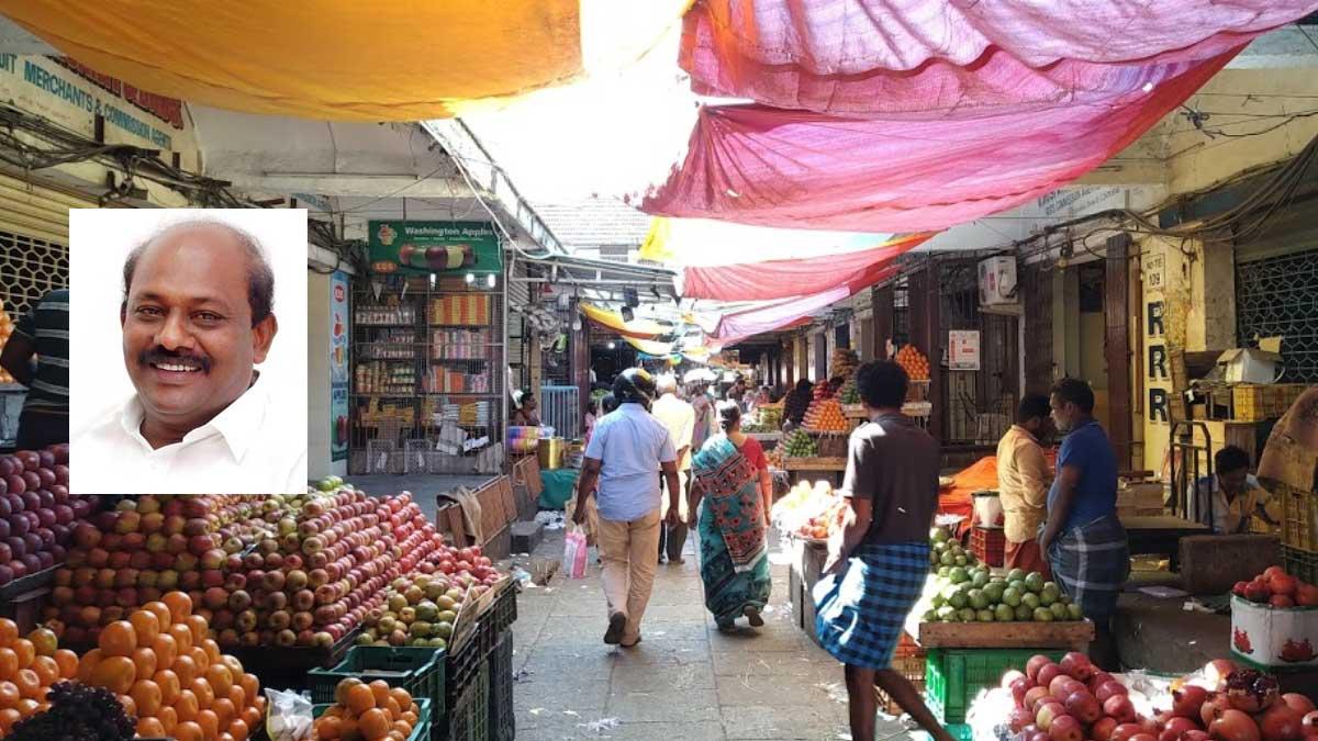 Koyambedu market will be open soon, rejioces Vikramaraja
