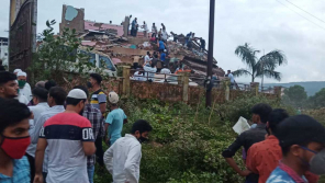 Maharastra building collapse kills 4