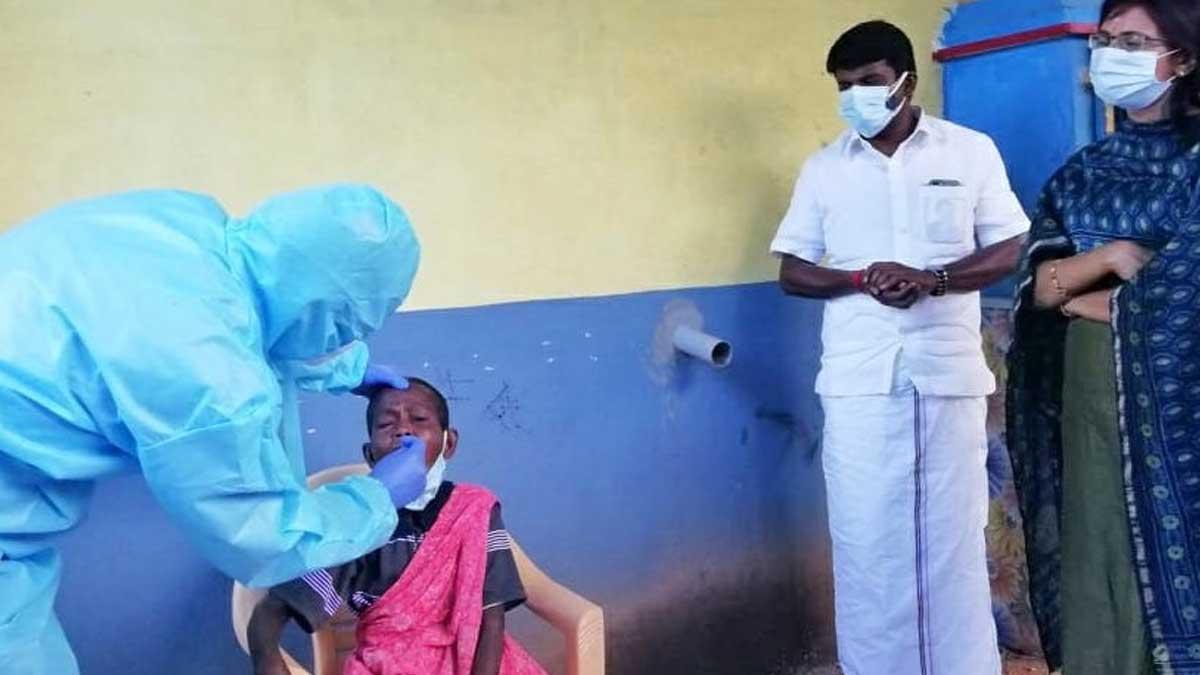 India nears 30 lakh Covid infections. Photo Pudukkottai