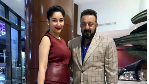 Sanjay Dutt and his wife Manyata Dutt