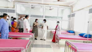 Tamil Nadu COVID 19 update: Pudukkottai Govt Medical college Covid19 Special ward