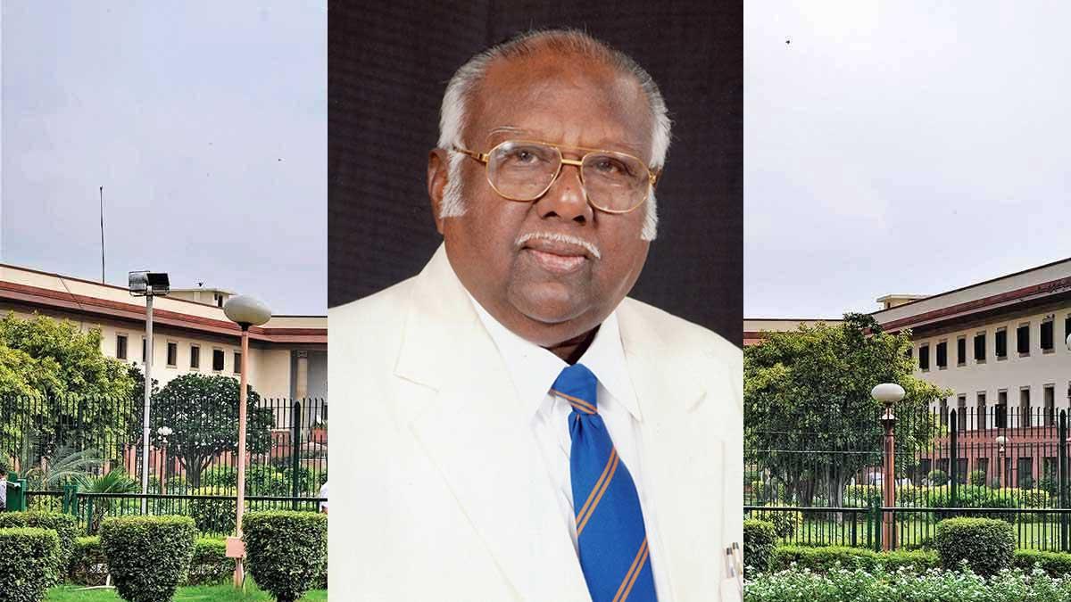 Former Supreme Court Judge AR Lakshmanan Passed away