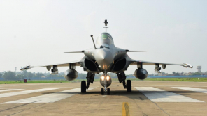 Five Rafale fighter jets