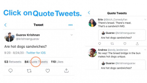 Twitter new feature QUOTE TWEET now available globally