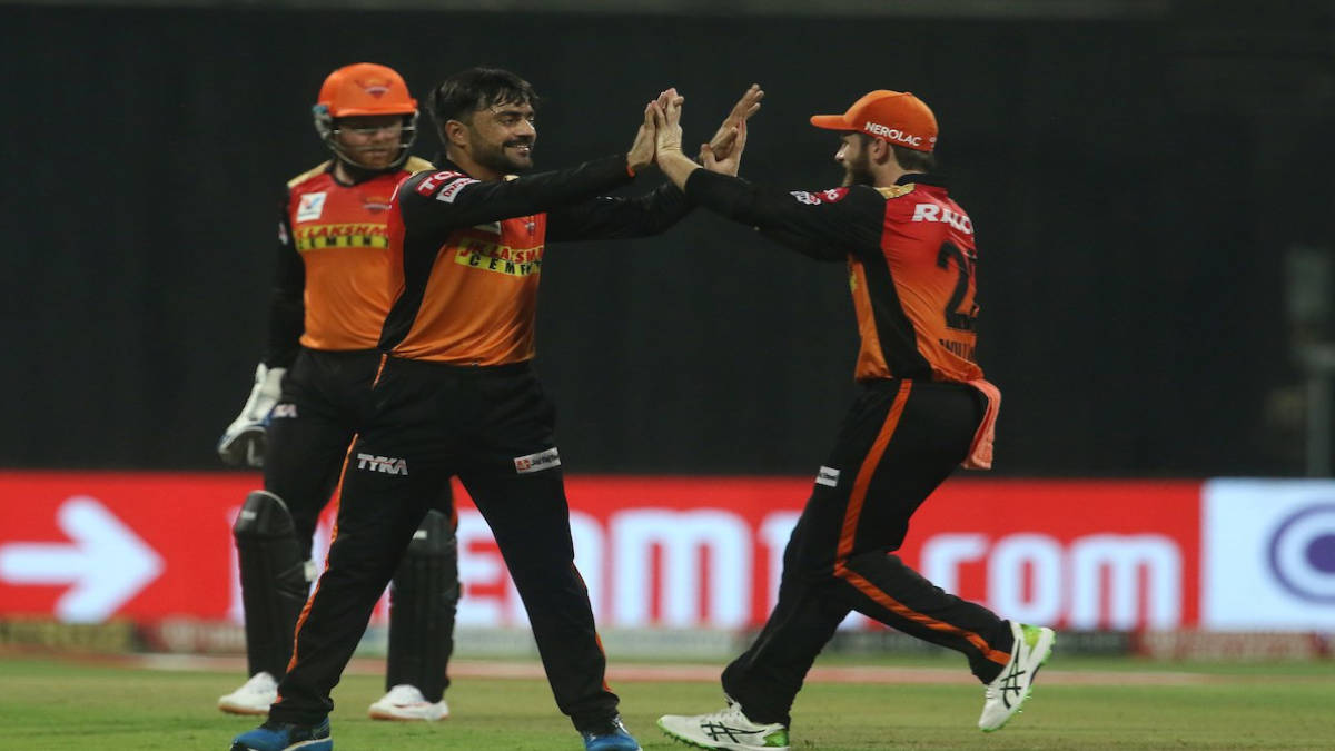 Rashid Khan and Jonny Bairstow are rejoicing the Third Wicket