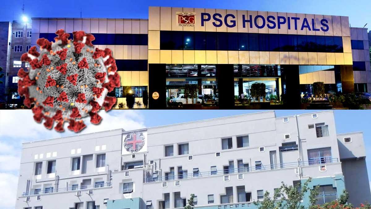 Kongunad Hospital and PSG hospital Cares Covid patients