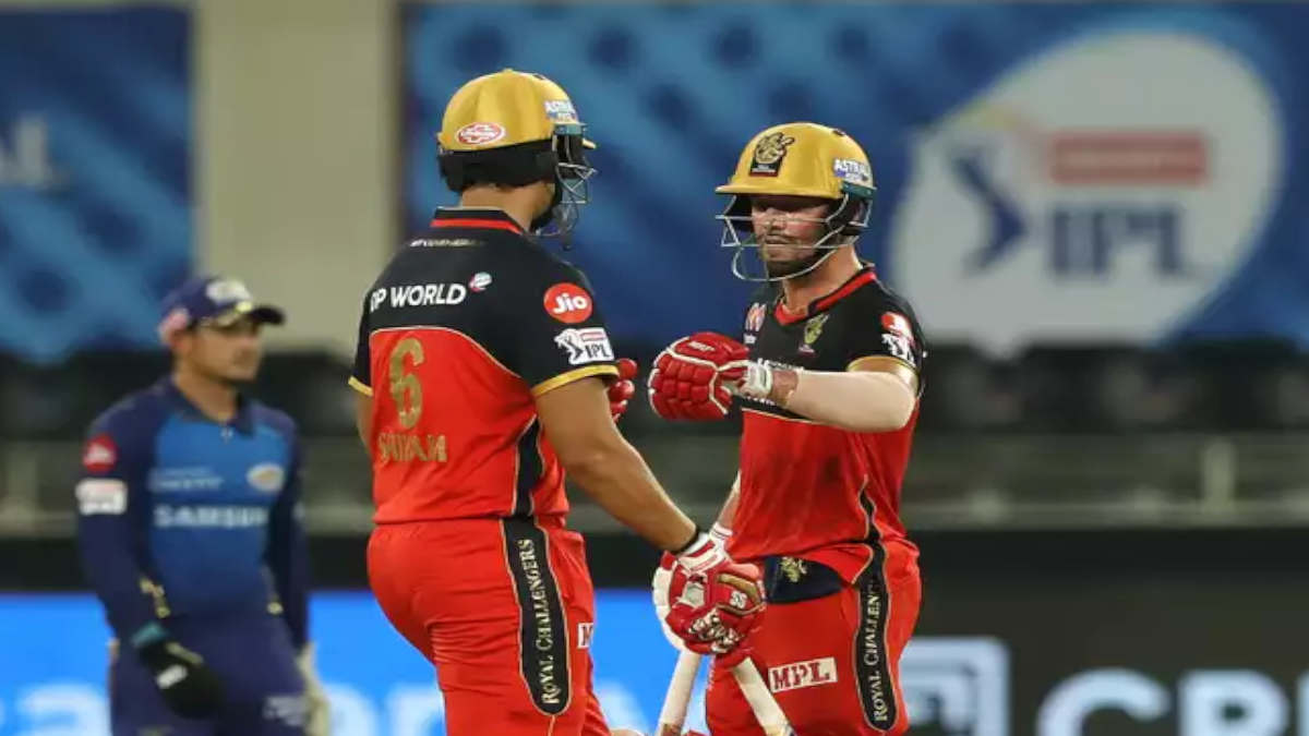 Padikkal and de Villiers led RCB to a strong finish