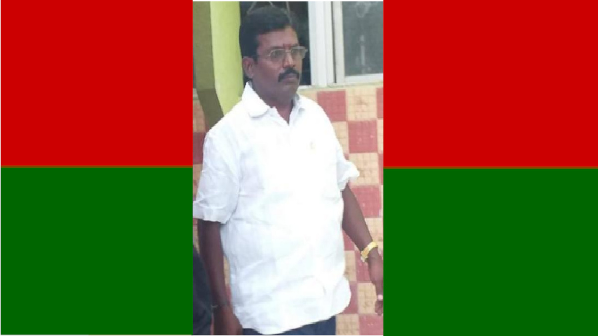 Puthiya Tamilagam Former District Secretary Rajalingam was Assassinated by Strangers