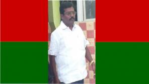Puthiya Tamilagam Former District Secretary Rajalingam was Assassinated by Strangers