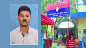 In Tirupur a man who was taken for interrogation has died