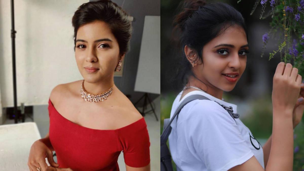 Amirtha Aiyer and Lakshmi menon as contestants of Bigg Boss Tamil 4