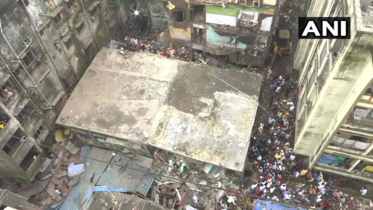 Maharashtra Building Collapse: 10 dead and 19 rescued.