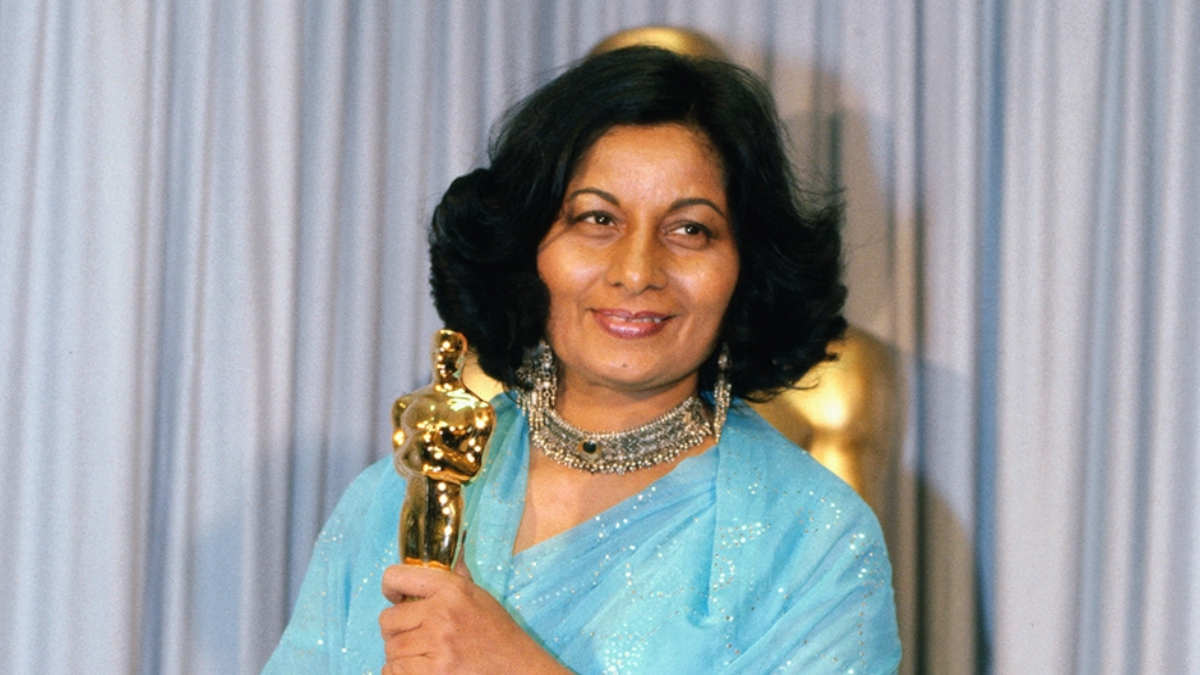 The First Indian to Win an Oscar has Perished in Her Sleep