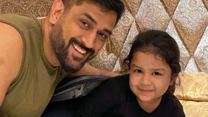 Dhoni Daughter Ziva