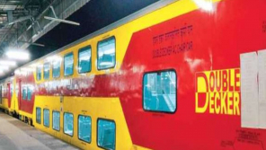 Chennai to Bangalore Double-decker train from today.