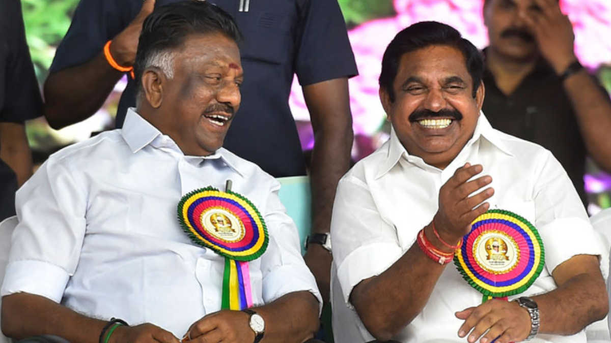 OPS announced Edappadi K.Palanisamy as CM Candidate 2020