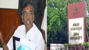 Government seeks explanation from Anna University Vice-Chancellor ,Minister KP Anbalagan