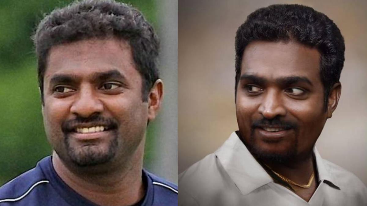 Vijay Sethupathi as Muthiah Muralitharan in '800' biopic.