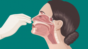 Nasal swab could damage the brain