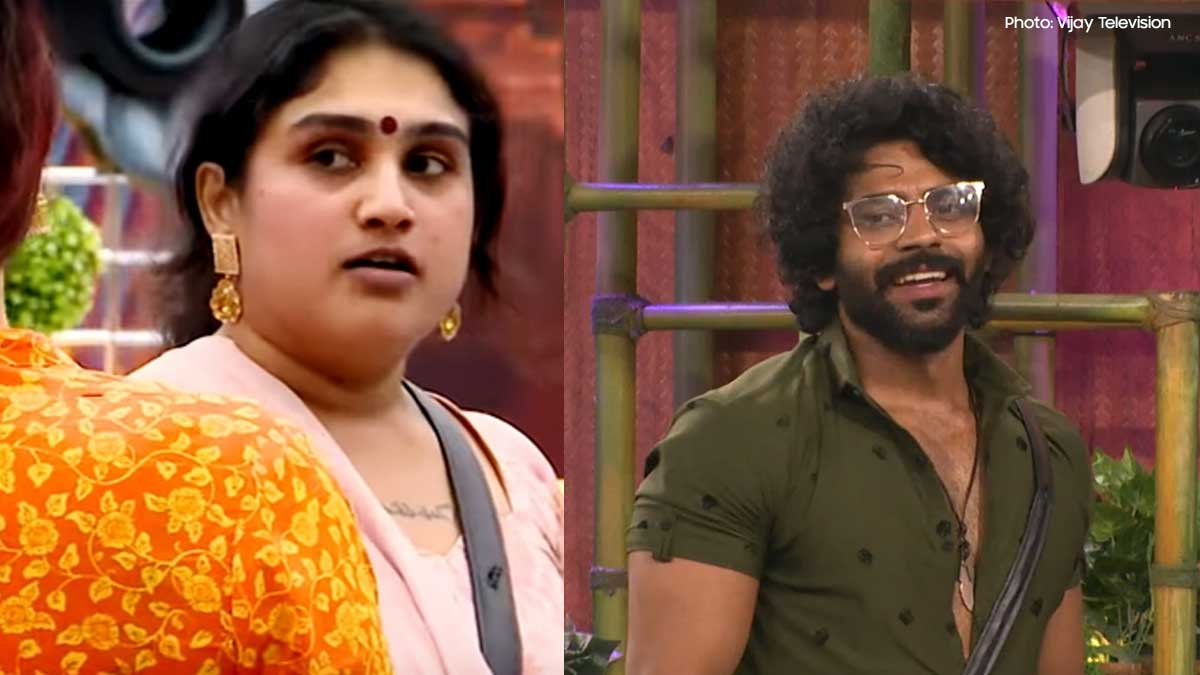 Vanitha Vijayakumar slipper shot to Bigg Boss Balaji Murugadoss