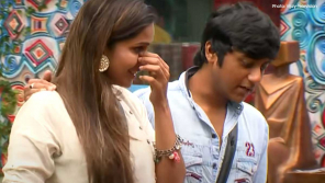 Samyuktha reactions for Aari as the Best Performer of the week Bigg Boss House