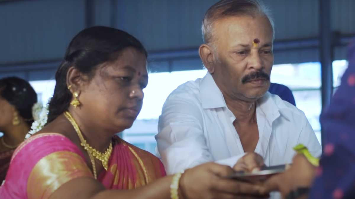 Bigg Boss Anitha Sampath Father Photo