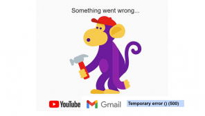 Gmail, YouTube, Gsuite and other Google Services are Down Worldwide