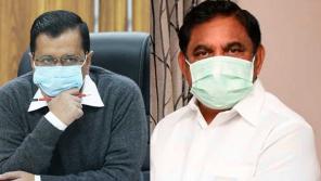 Delhi CM Arvind Kejriwal and TamilNadu CM Edappadi Palaniswamy