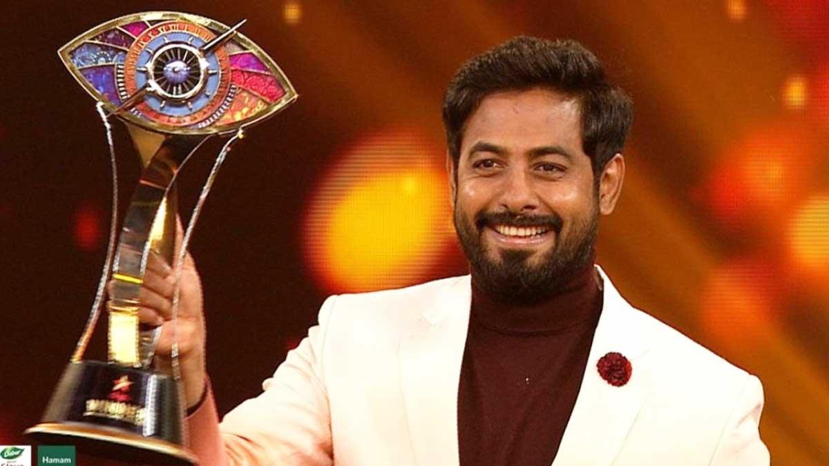 Bigg Boss Tamil Season 4 Title Winner Aari Arjunan