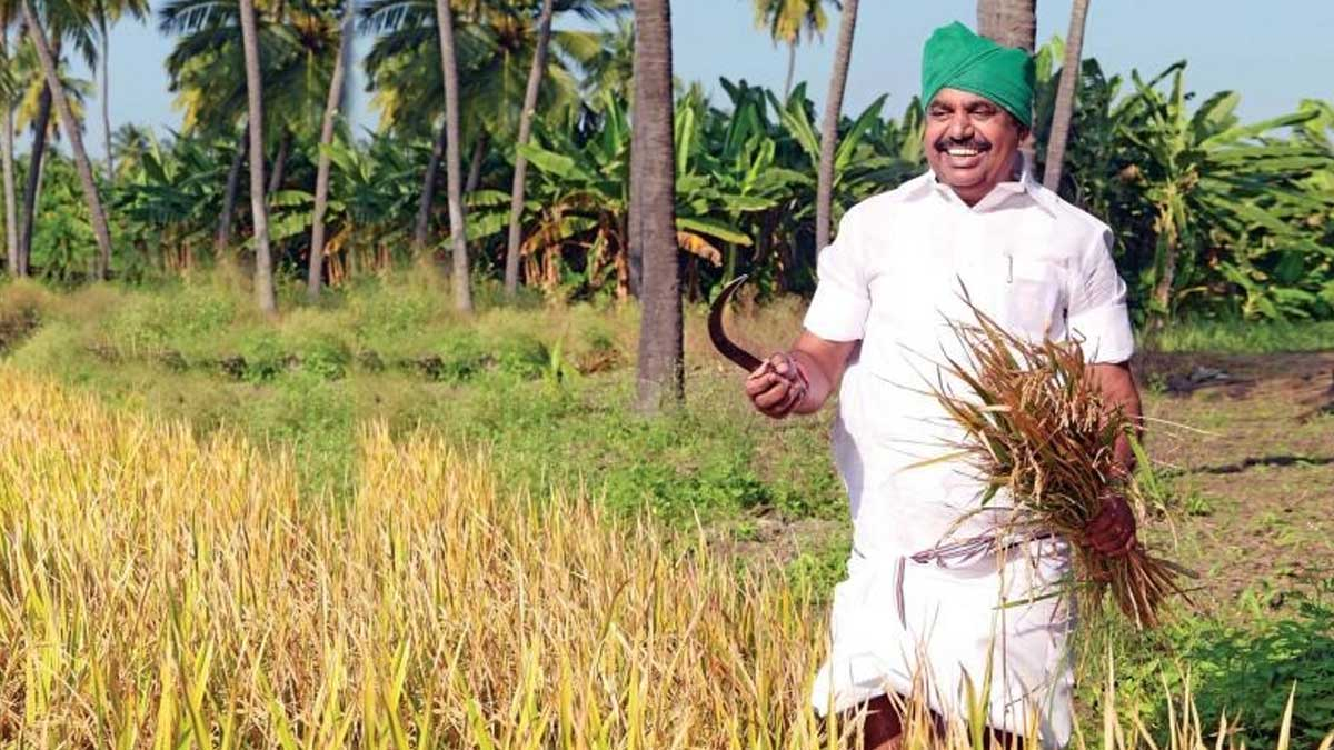 Agricultural crop loan waiver, CM Palanisamy