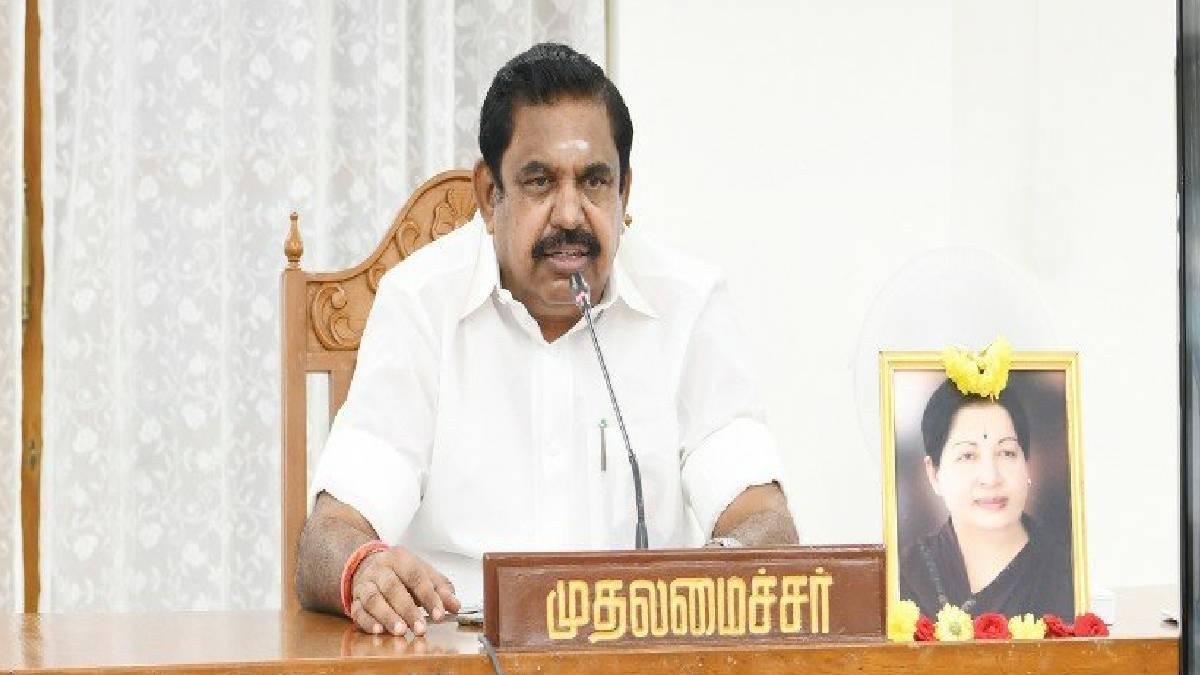 Edappadi K. Palaniswami Files nomination with accounts of assets