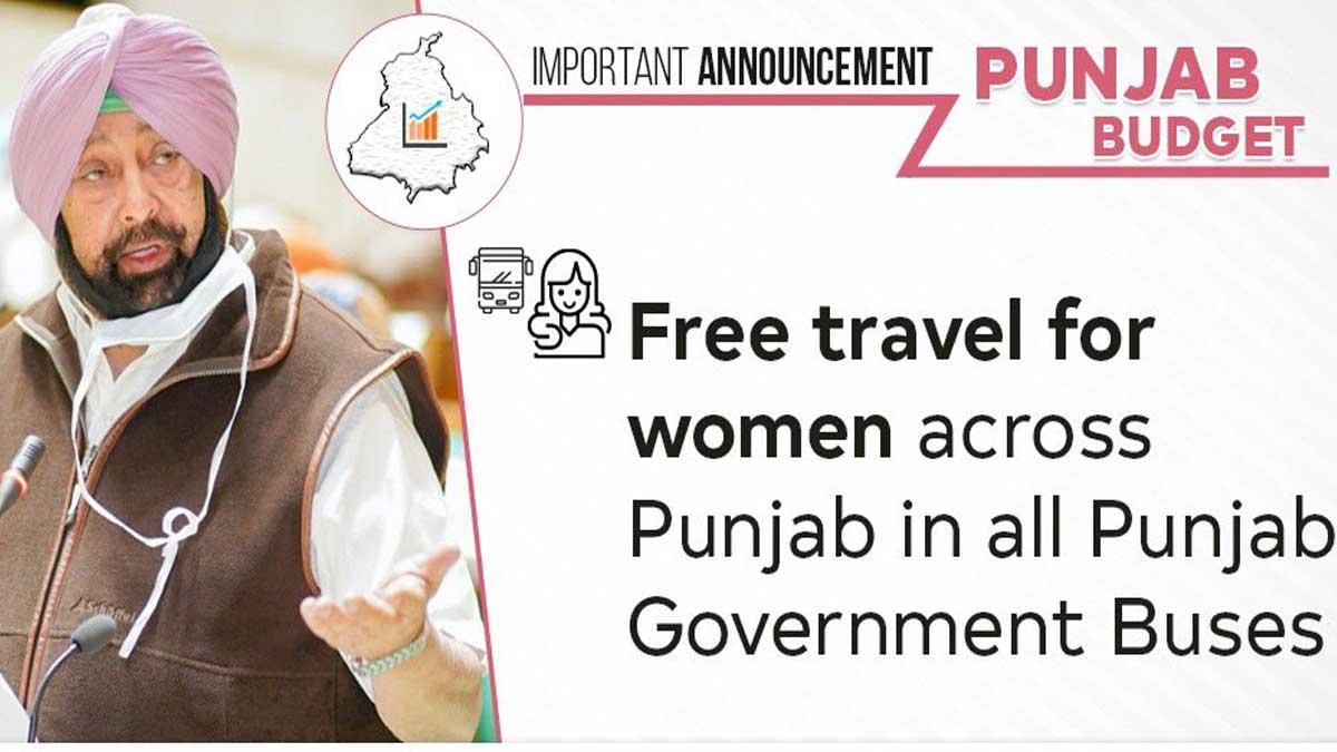Free Bus for Women in Punjab