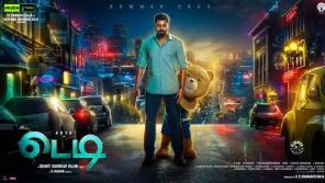 Teddy movie is on Disney   hotstar