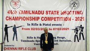 Actor Ajith wins Gold medals in State level Shooting Championship Competition 2021