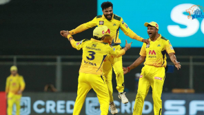 CSK Video of Mask Podu Whistle Podu is going viral
