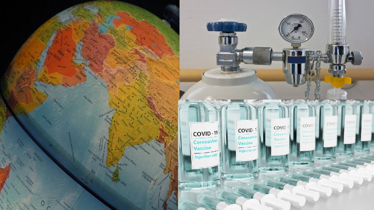 Other Countries announced to help india with COVID Crisis