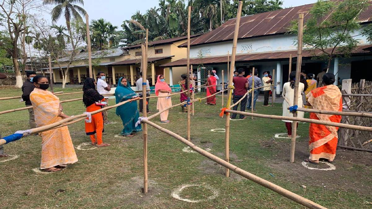 Polling Station in West Bengal