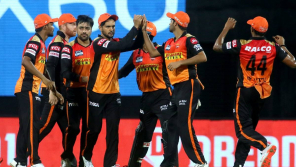 SRH Team dancing to Vaathi Coming Song is going viral on social media.
