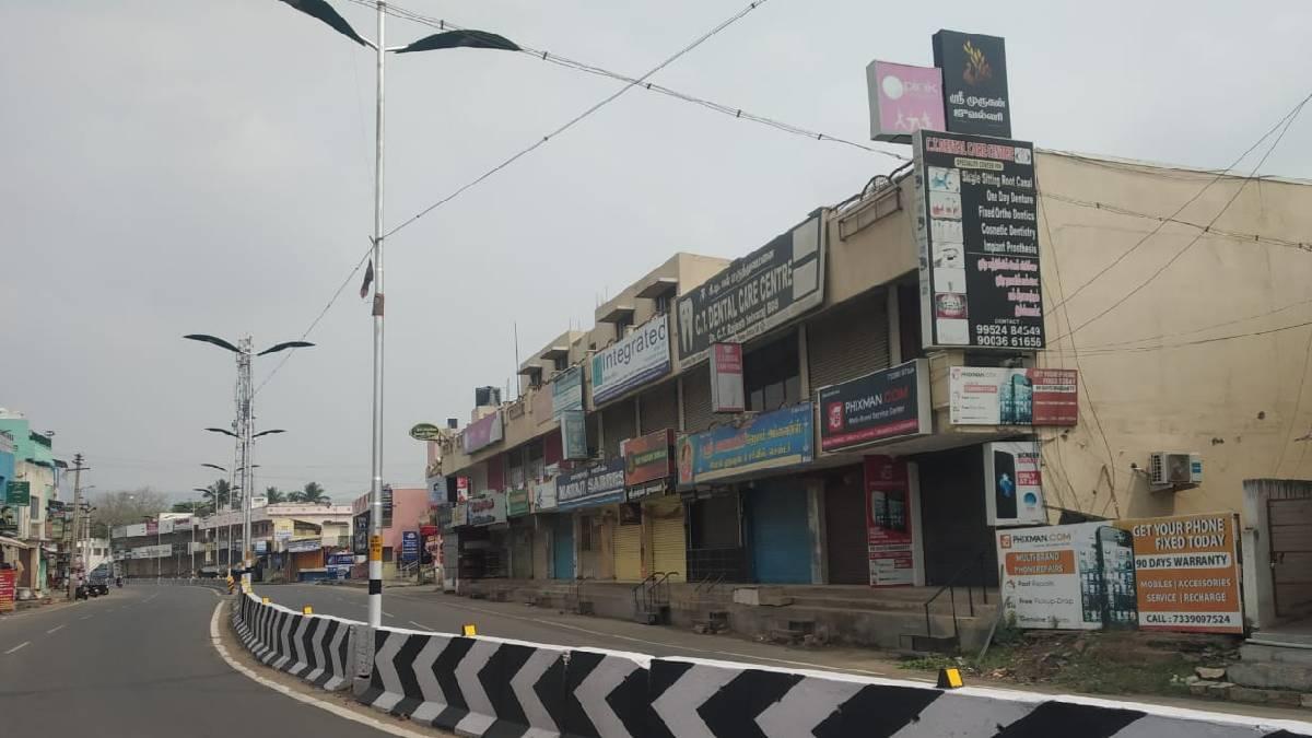 Tamil Nadu Government announces Lockdown