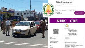 Apply E-Pass in Tamil Nadu 2021