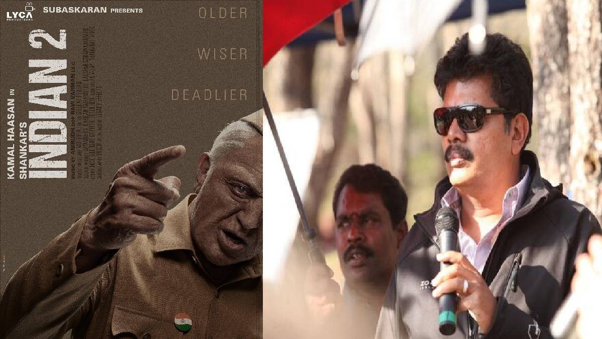 Indian 2 Movie Poster