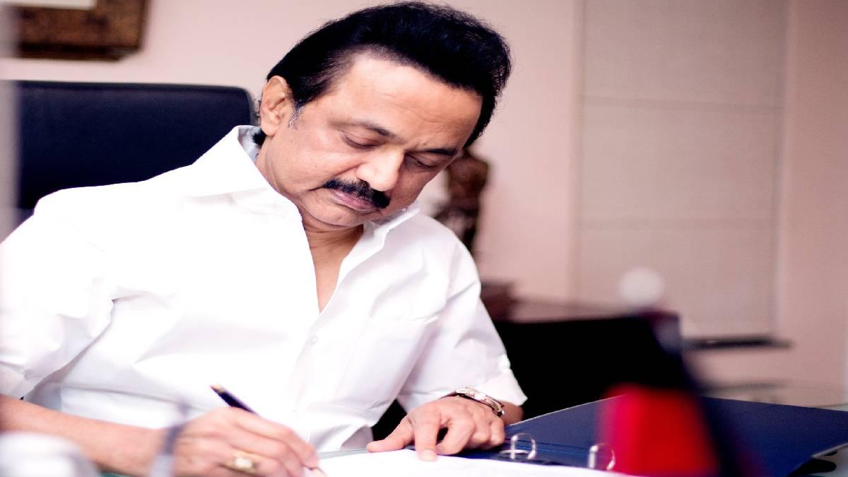M.K Stalin as Chief Minister of Tamil Nadu